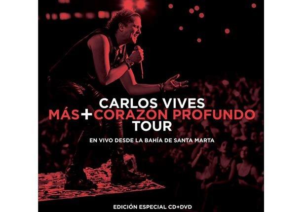 Carlos Vives, 'Más+Corazón profundo tour' - Discos del 2015