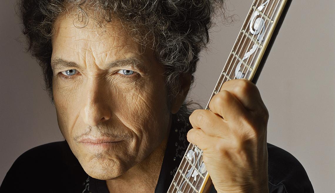 Portrait, Guitar, Bob Dylan, Musician, Singer, Bob Dylan AARP Full Interview