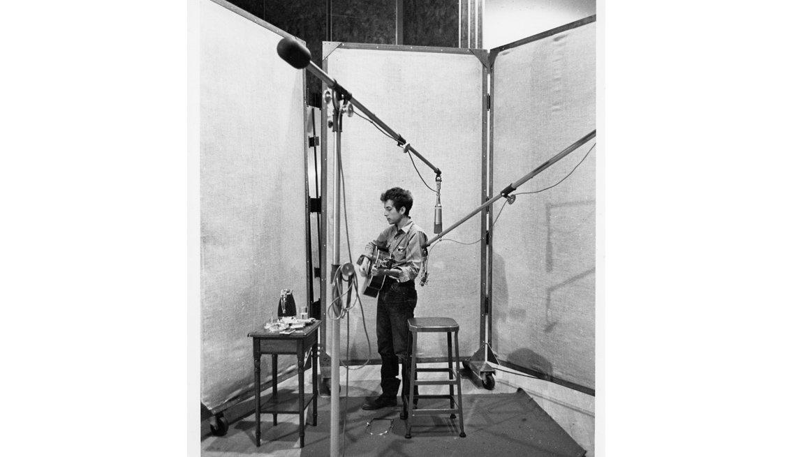 Music Studio, Album Recording, Bob Dylan, Singer, Musician, Bob Dylan AARP Full Interview