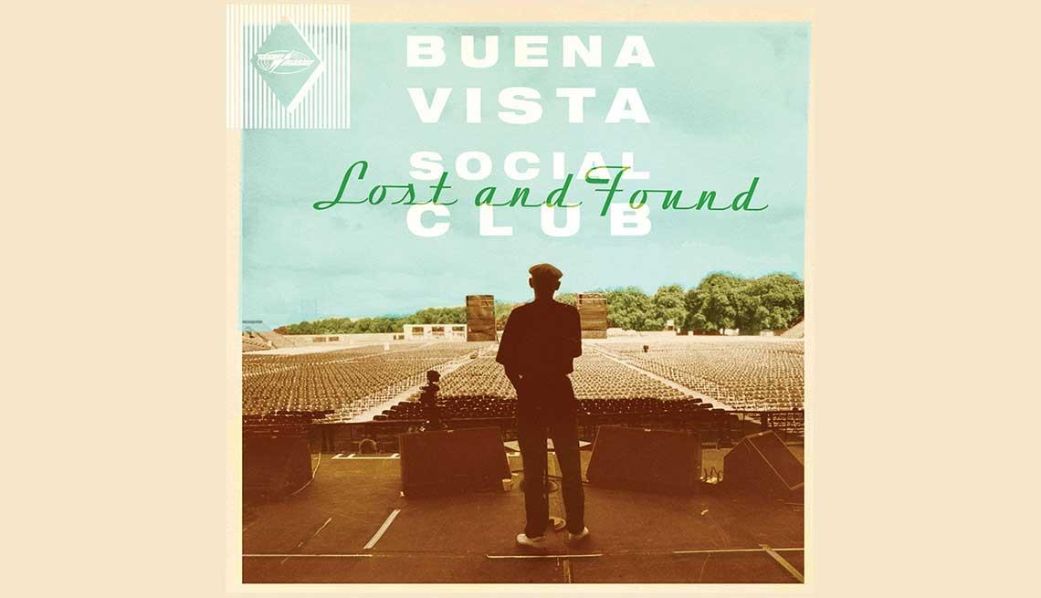 Portada del cd Lost and Found, de El Buena Vista Social Club.