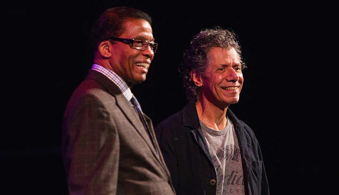 Herbie Hancock and Chick Corea - Mes de la apreciación del jazz y sus grandes artistas