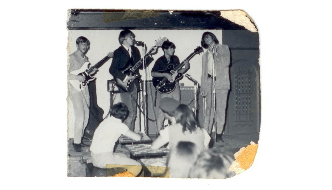 The Sloths playing on the Sunset Strip in 1965