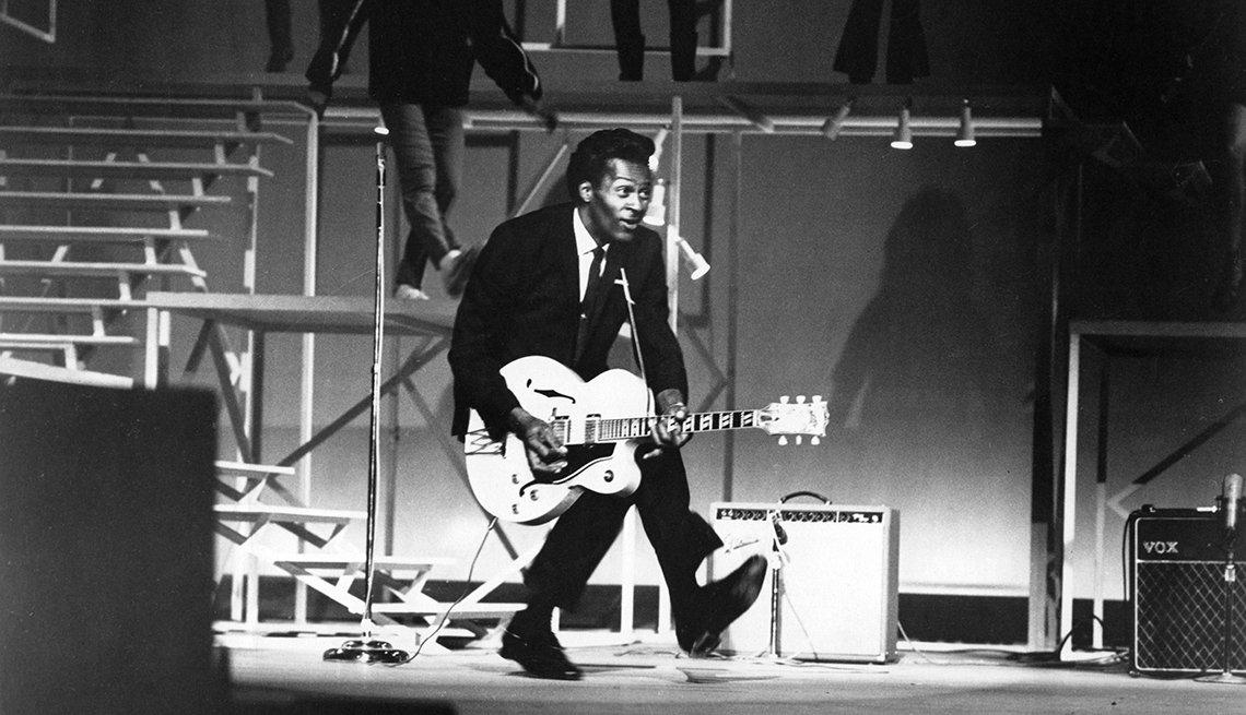 Lo que piensa Bob Dylan de Chuck Berry