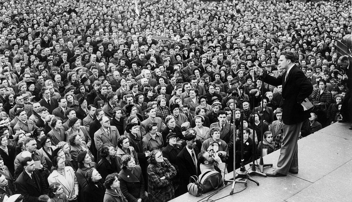 Lo que piensa Bob Dylan de Billy Graham