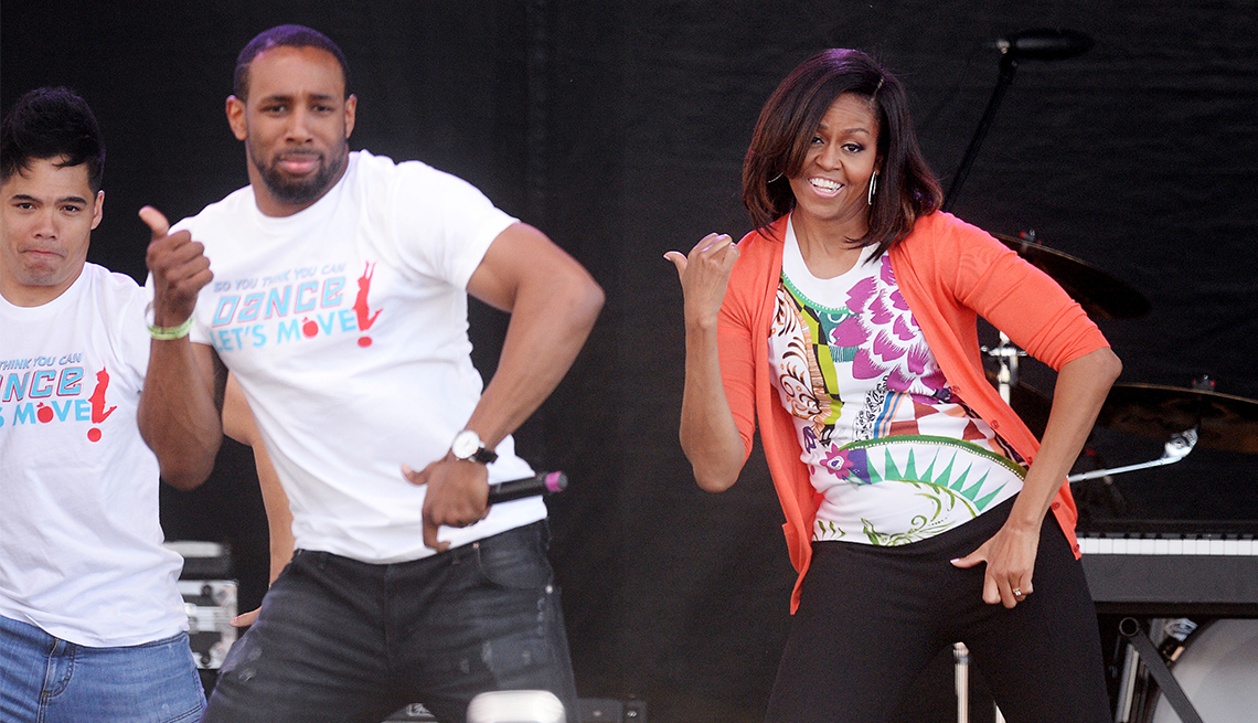 First Lady of Dance, Michelle Obama