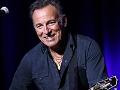 Retrato del cantante Bruce Springsteen