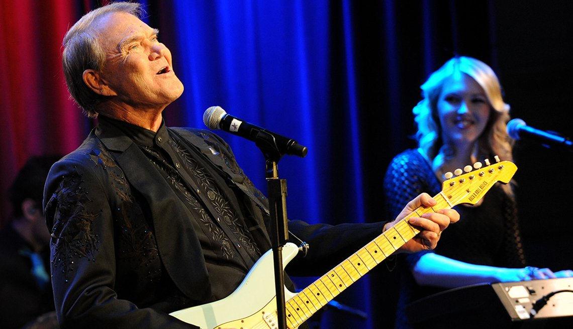 Glen Campbell Bids Goodbye to Music Fans With Adios