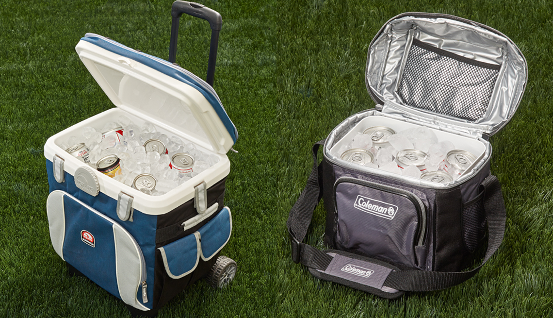 Igloo MaxCold and Coleman 9-Can Cooler
