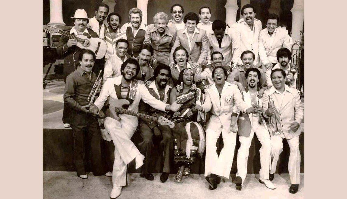 Grupo de los músicos de Fania