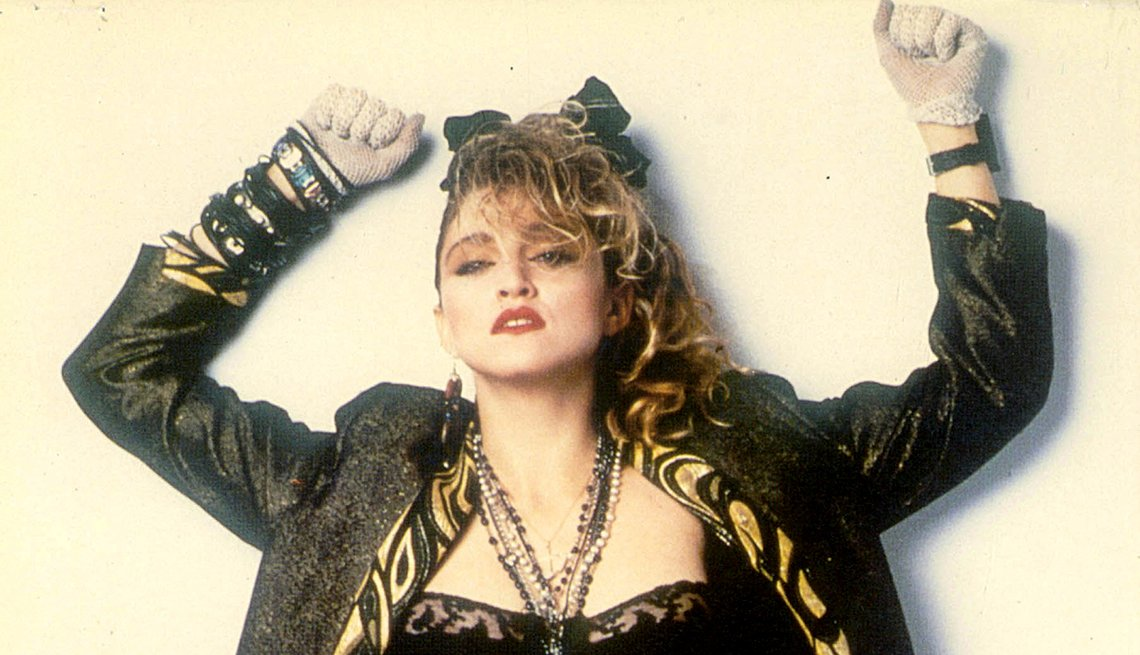 Madonna, Like a Prayer (1989) and Like a Virgin (1984)