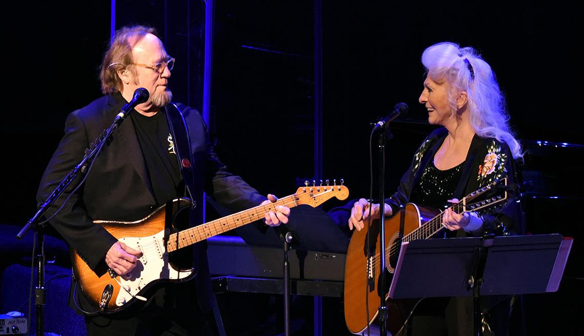 Stephen Stills and Judy Collins