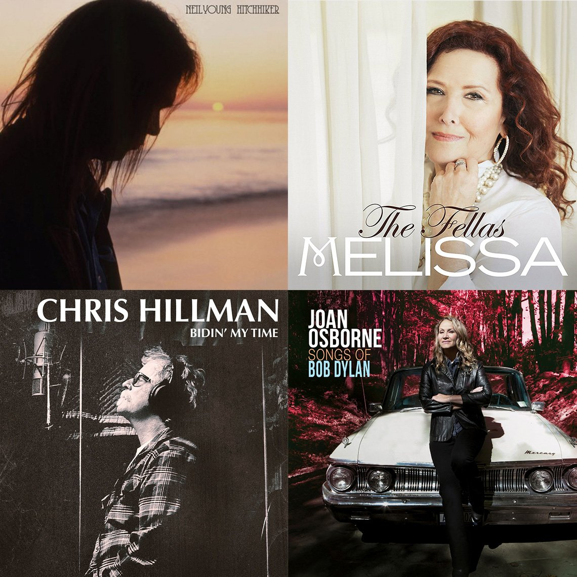 New Albums by Neil Young, Melissa Manchester, Chris Hillman and Joan Osborne
