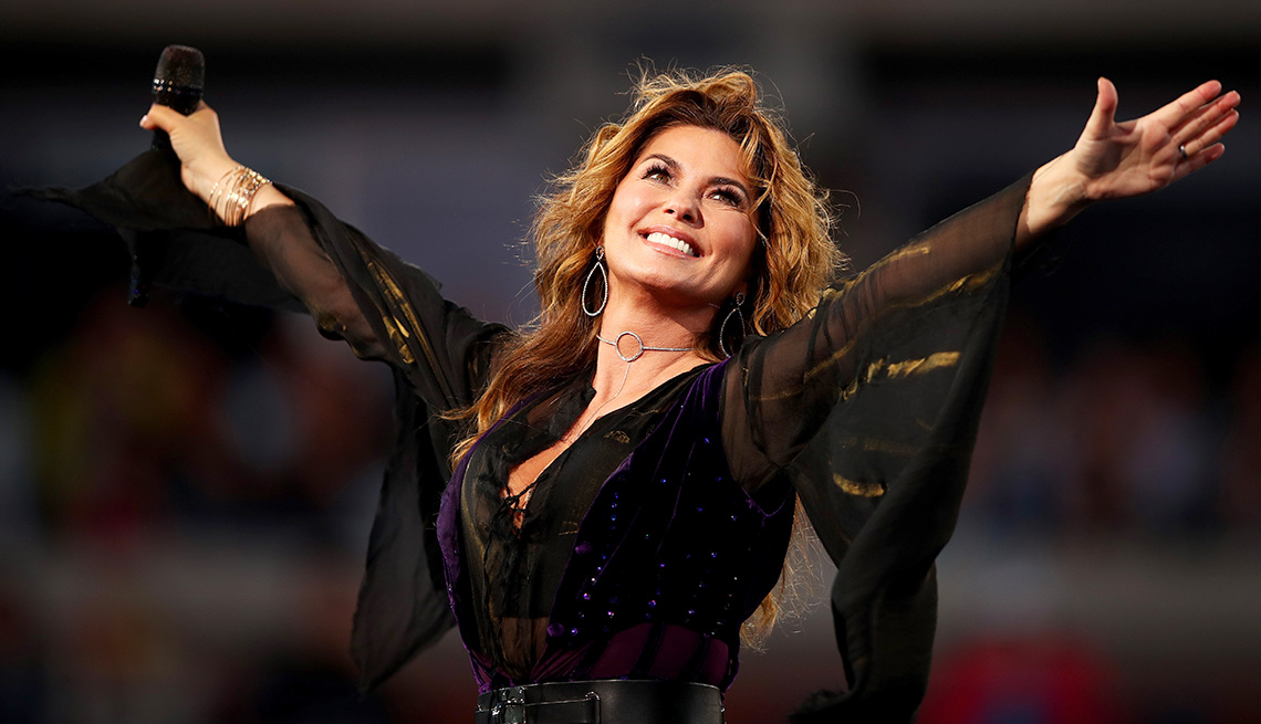 Pop Country Superstar Shania Twain Discusses Her New Album Now