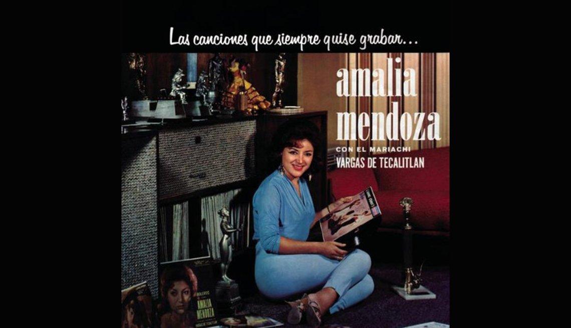 item 18, Gallery image. Amalia Mendoza, rancheras inolvidables