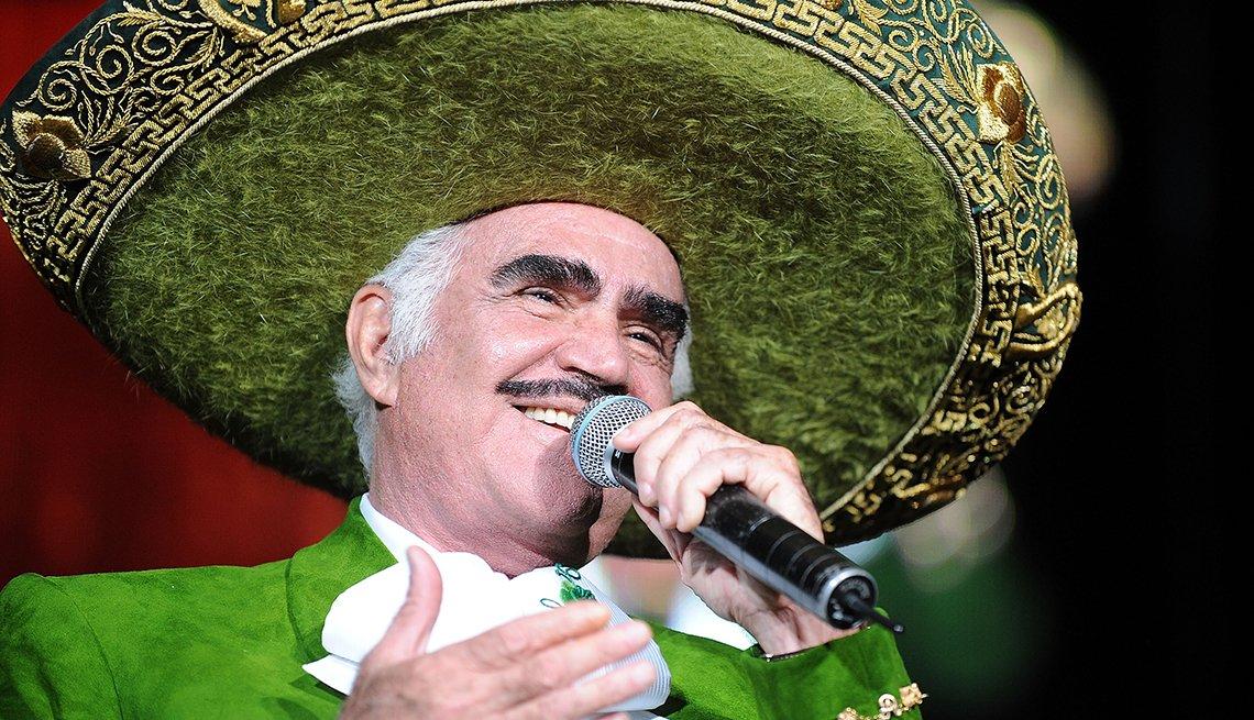 Vicente Fernández, rancheras inolvidables