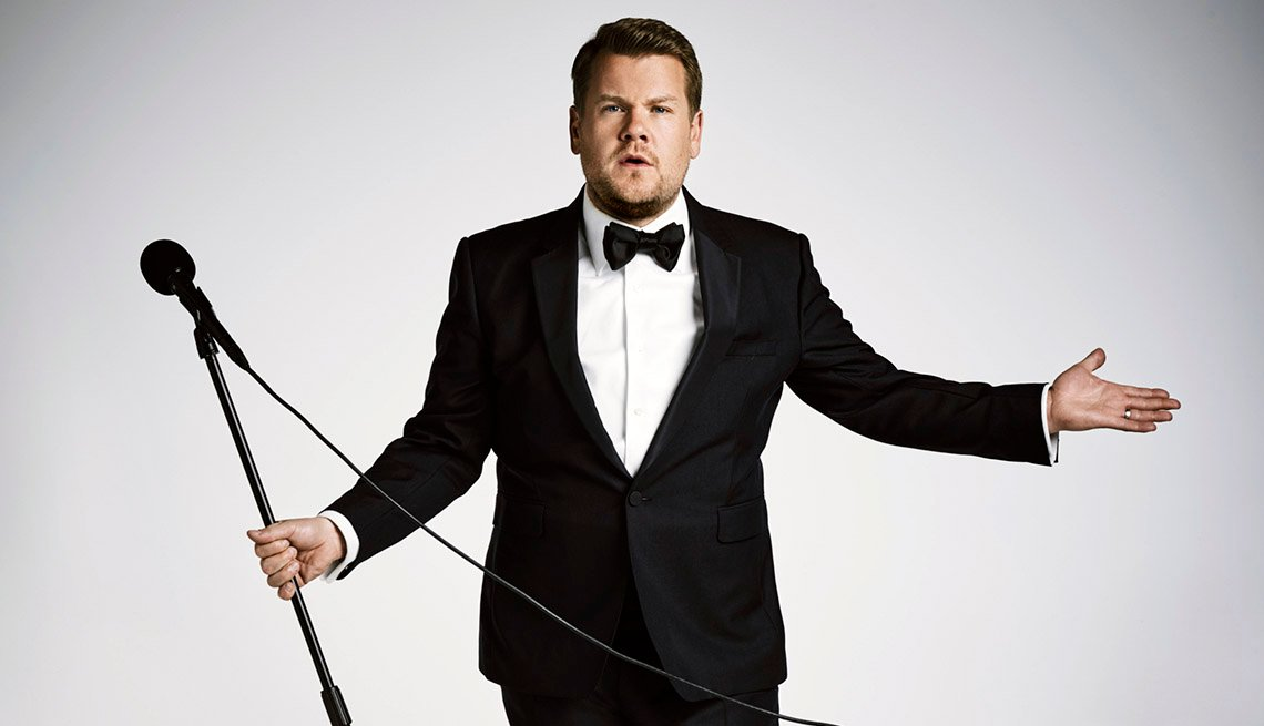 "item 1, Gallery image. ""The Late Late Show"" host James Corden will host the Grammy Awards this year"