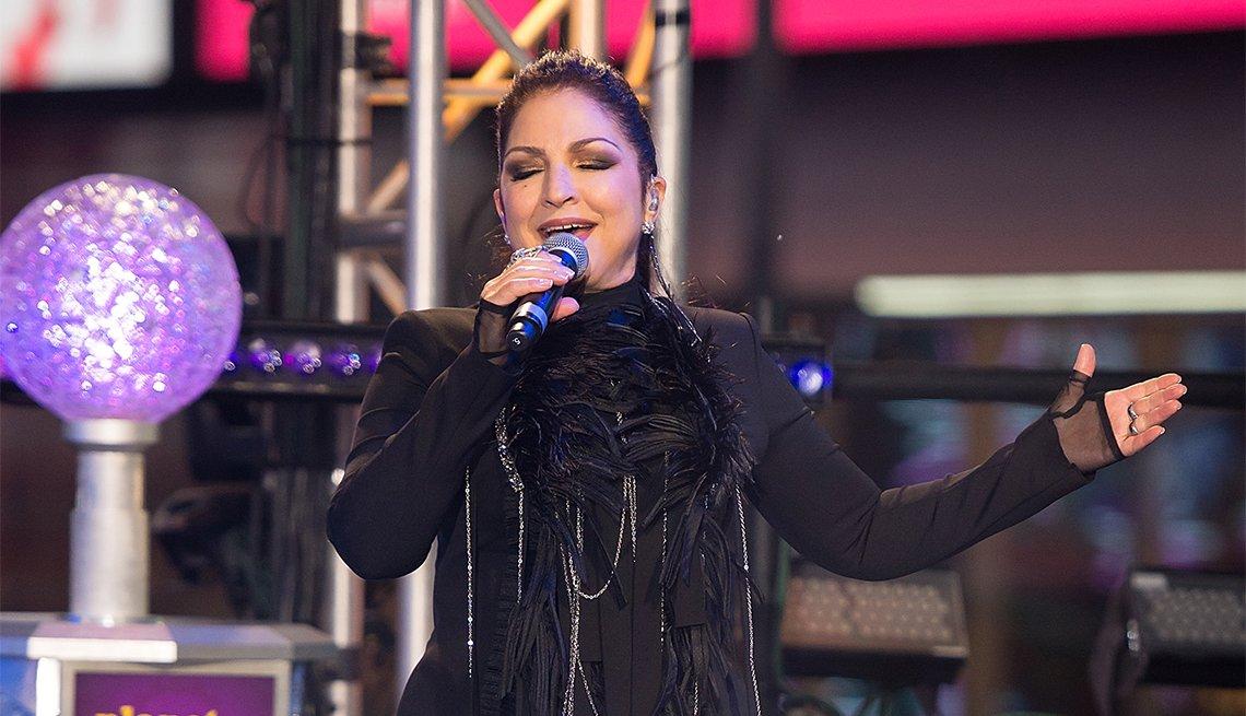 Gloria Estefan performs