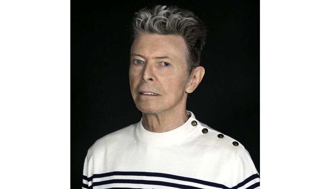 item 10 of Gallery image - David Bowie 2016 just before his death