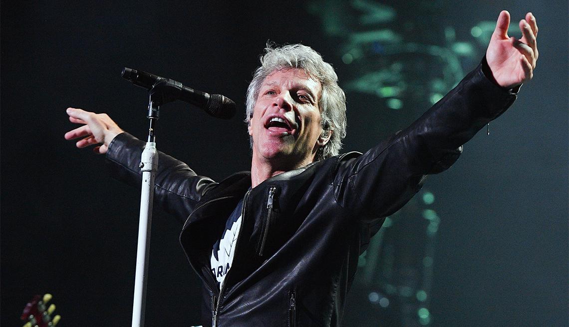 Jon Bon Jovi Performs At Air Canada Centre