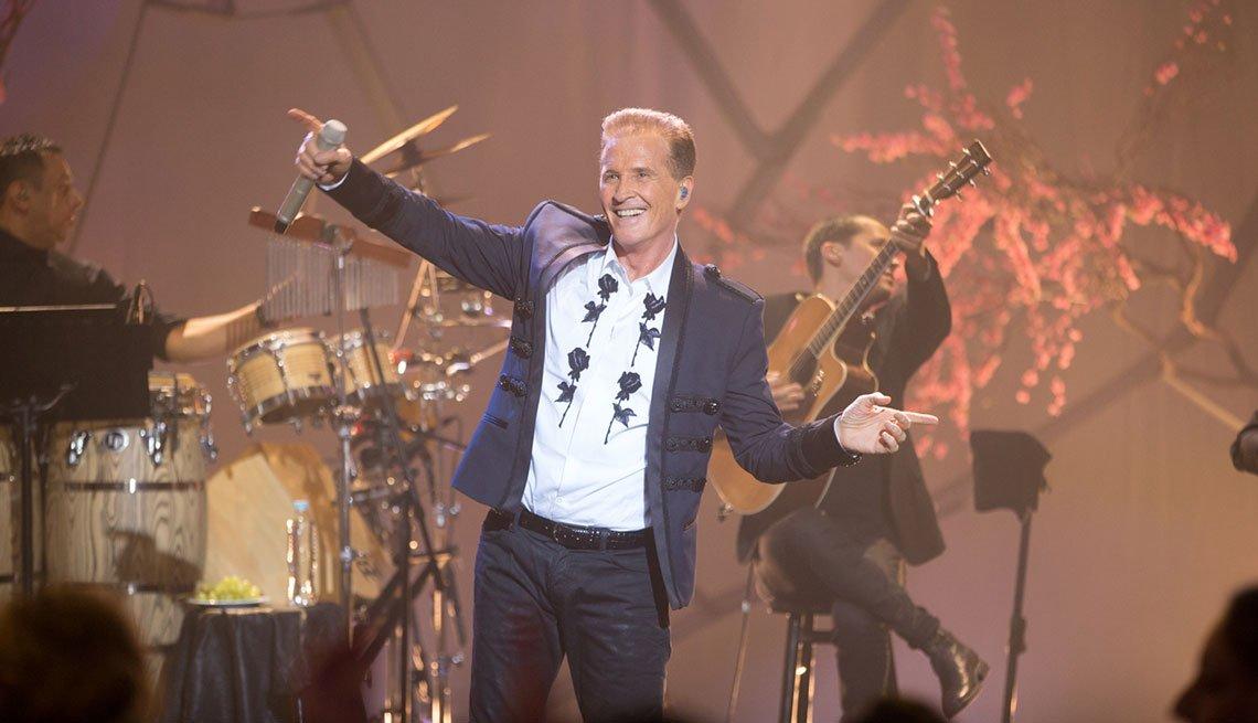 Emmanuel en el escenario