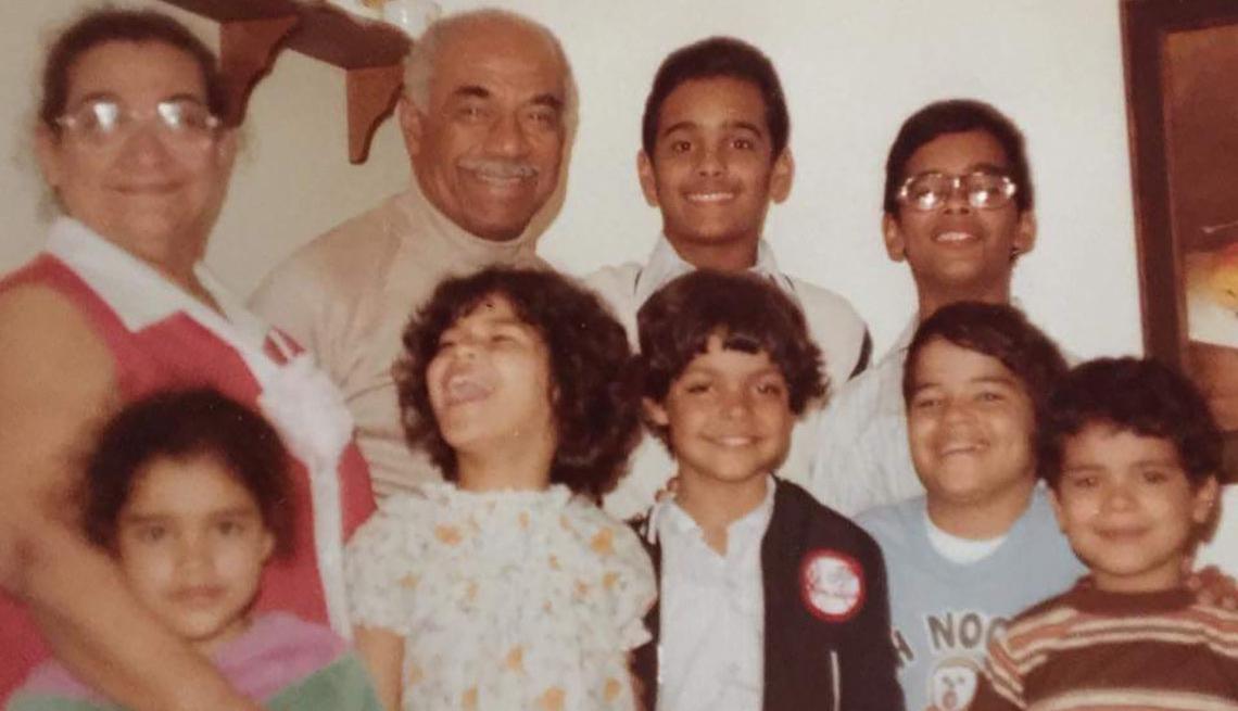 Machito y su familia