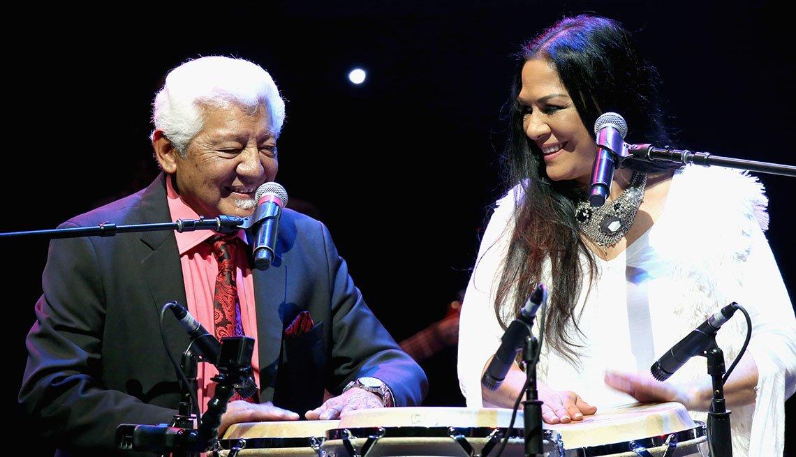 Pete Escovedo y Sheila E.