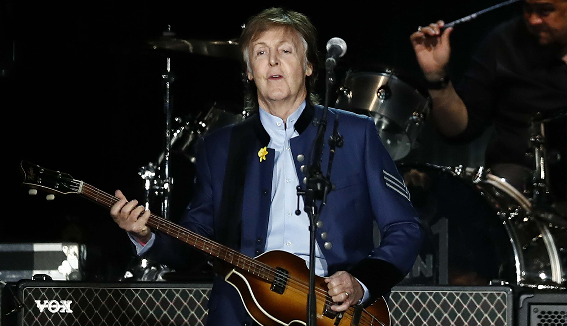 Paul McCartney Releases New Album 'Egypt Station'