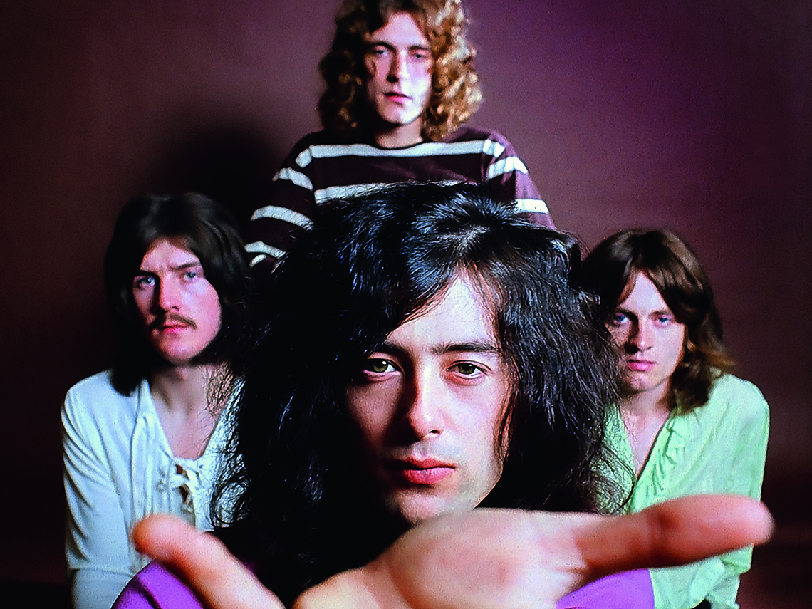item 8 of Gallery image - Photo of Led Zeppelin group ahead of 1969 tour
