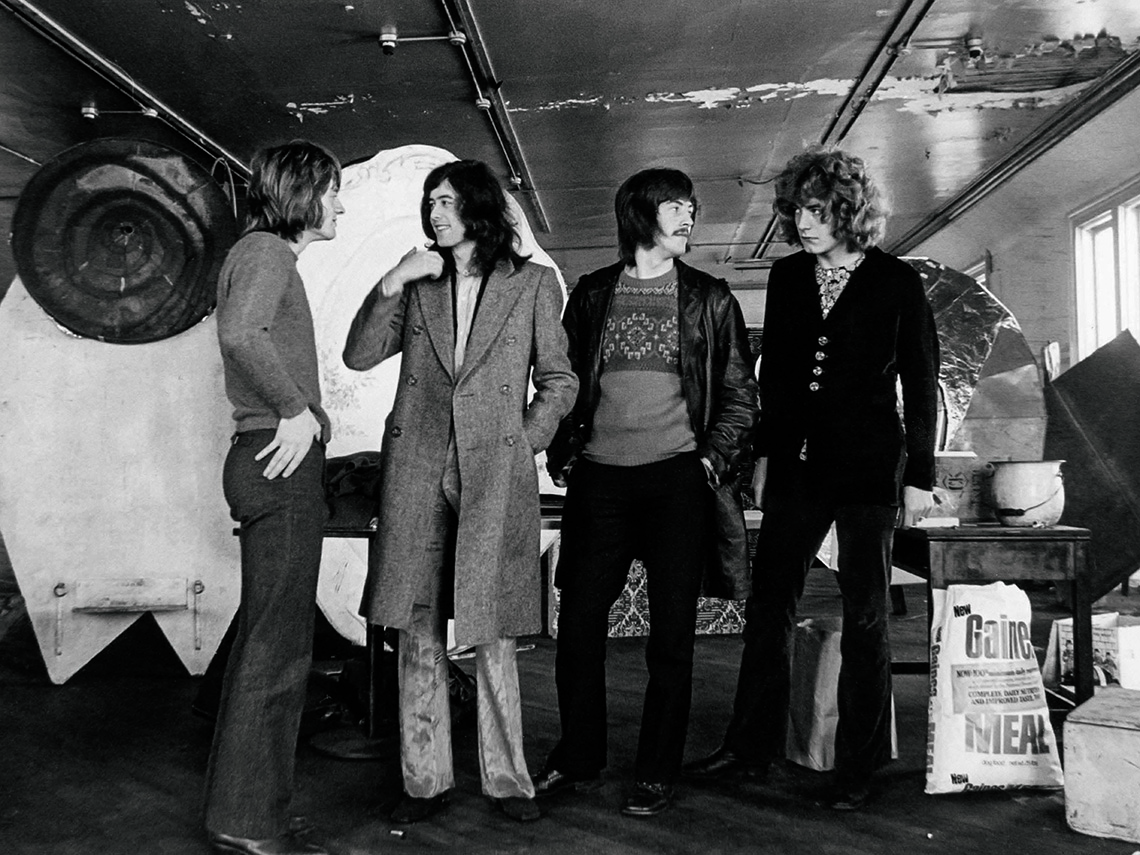 item 6 of Gallery image - Group photo of musicians in Led Zeppelin