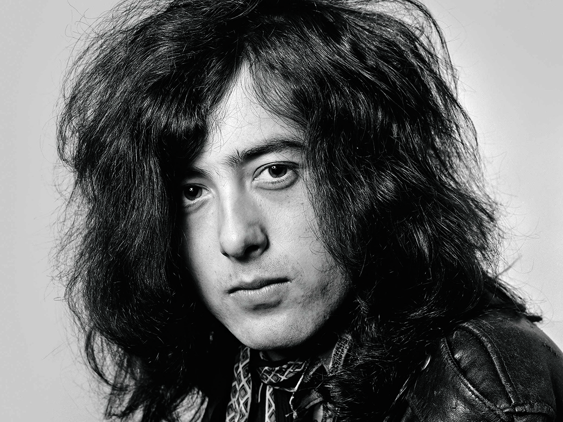 item 3 of Gallery image - Jimmy Page headshot