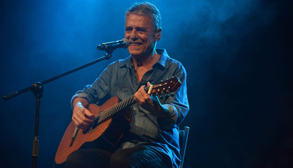 Artista brasileño Chico Buarque
