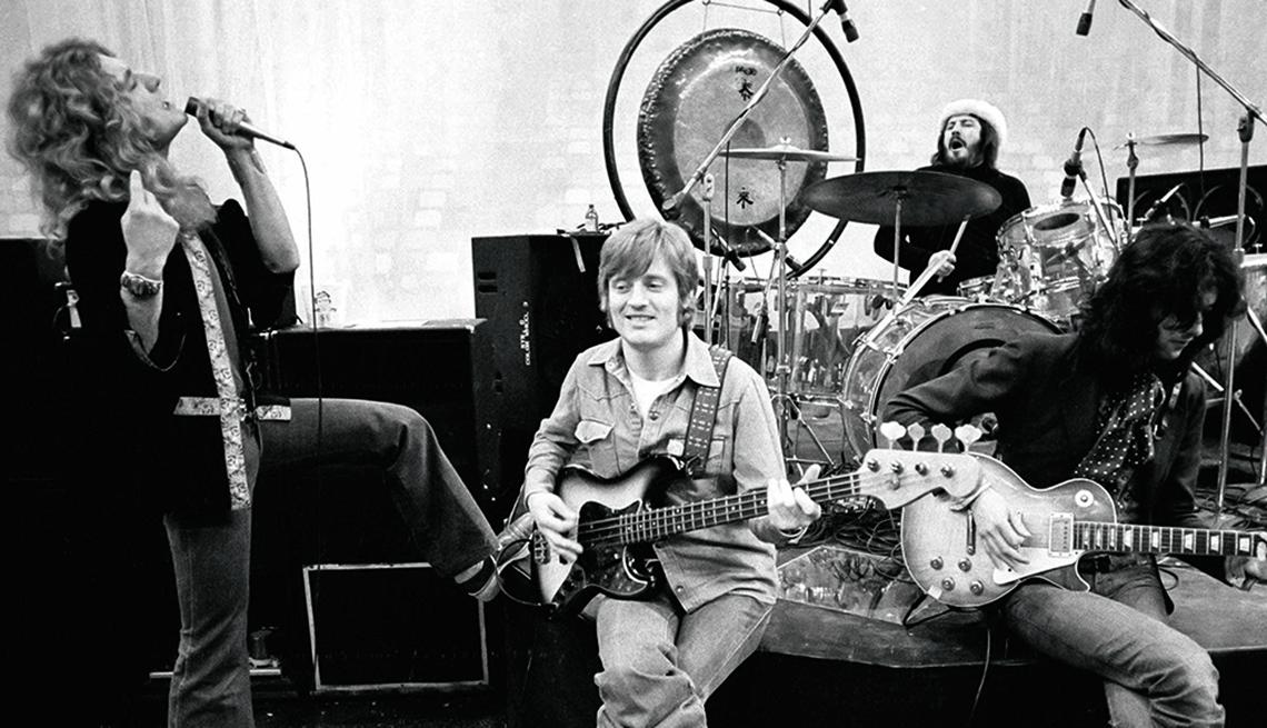 Led Zeppelin at Met Center