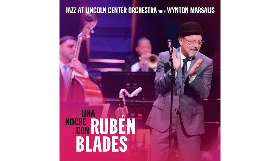 Portada del disco Una noche con Rubén Blades