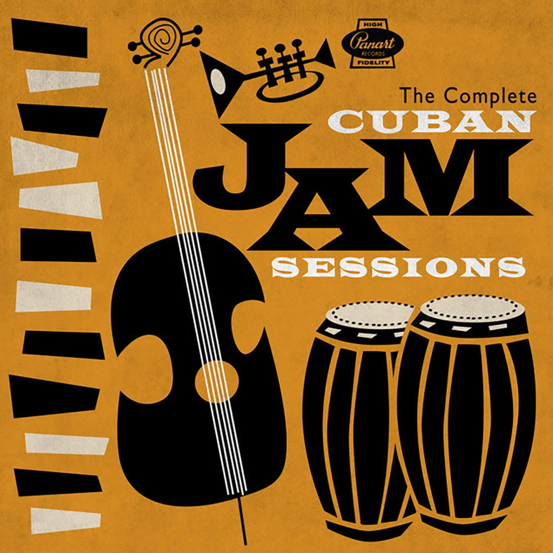 Portada del disco The Complete Cuban Jam Sessions