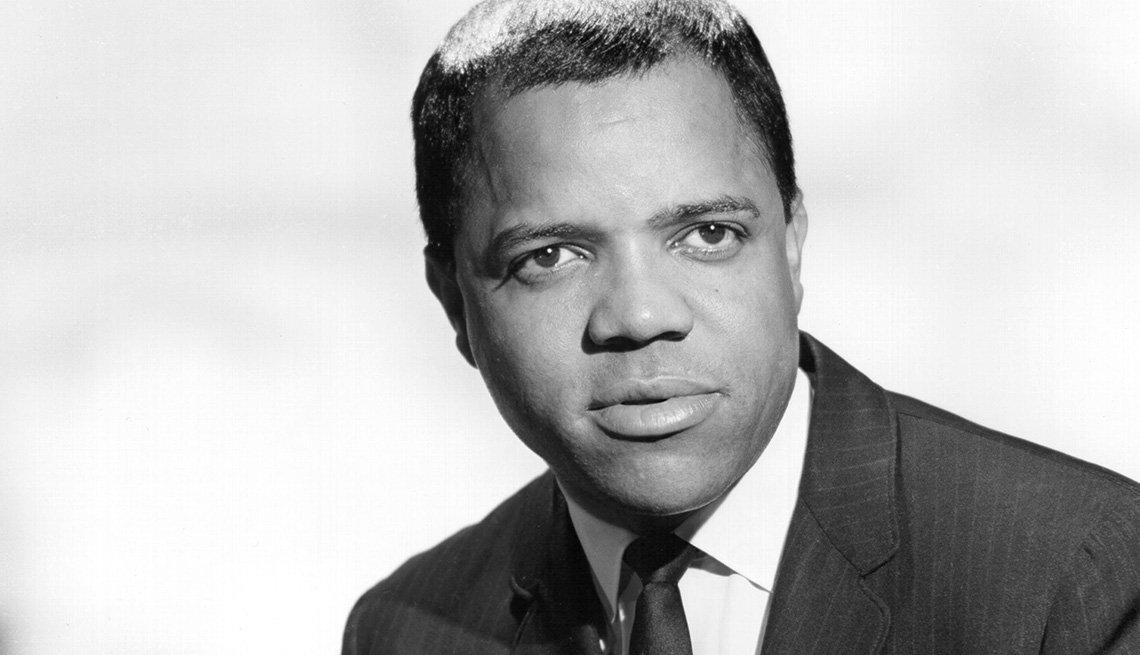 Retrato de Berry Gordy, director ejecutivo del sello discográfico Motown en Circa, 1957.