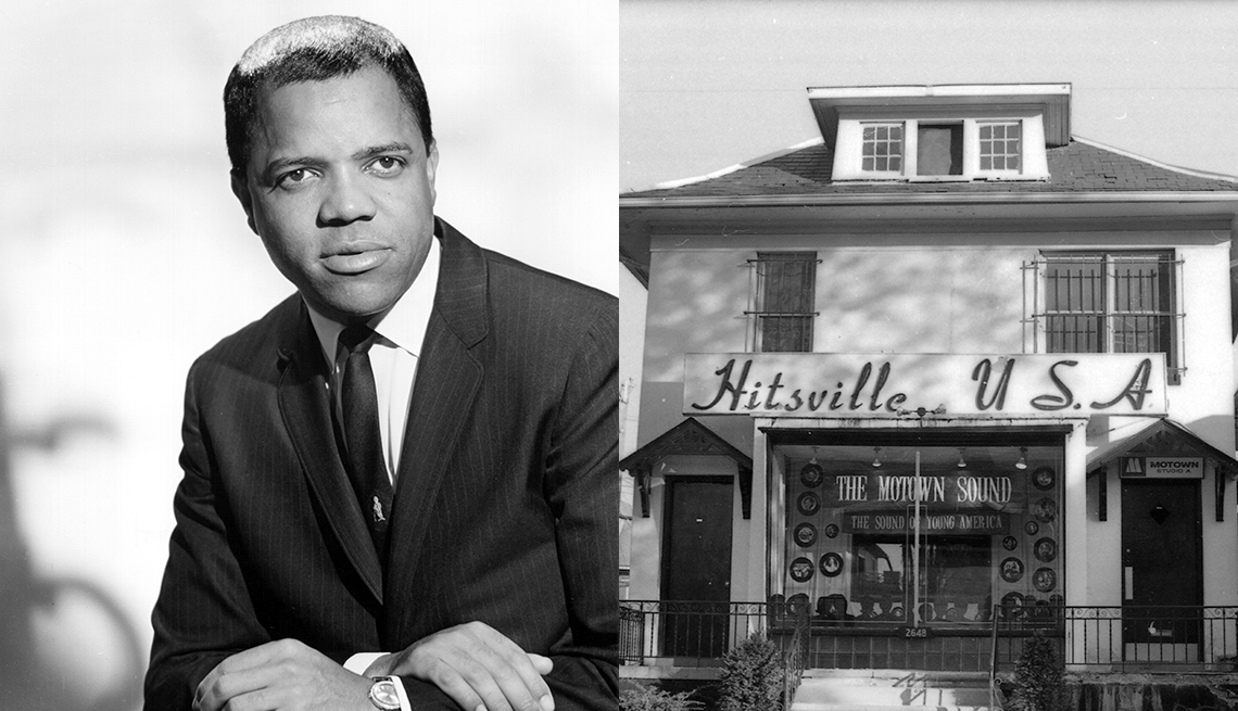 item 1 of Gallery image - Berry Gordy, Hitsville building