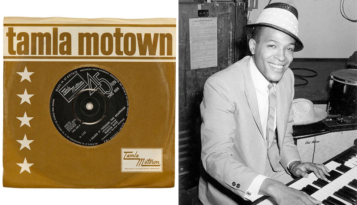item 10 of Gallery image - Porta del disco Tamla Motown, Marvin Gaye
