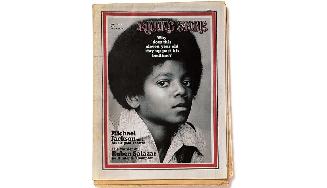 item 13 of Gallery image - Michael Jackson en la portada de la revista Rolling Stone en 1971
