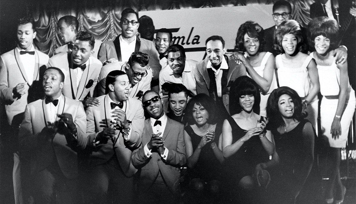 Artistas de Motown