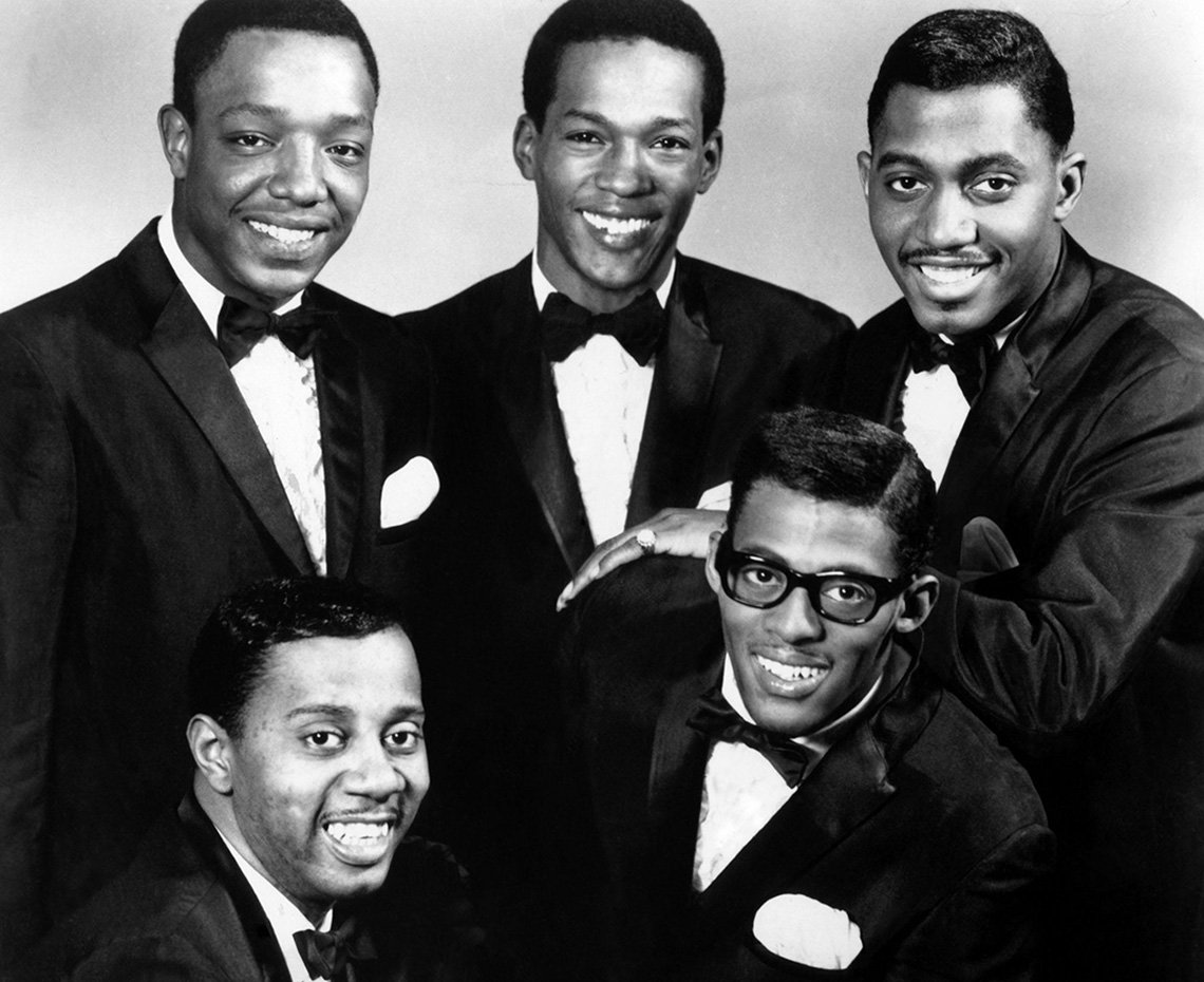 The Temptations group