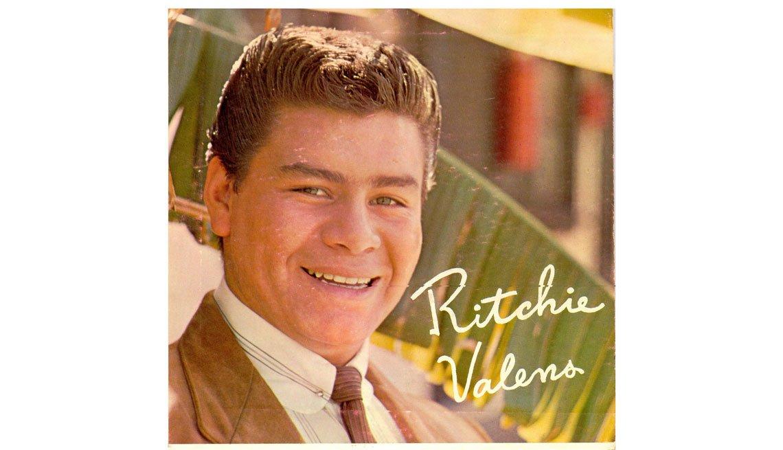 item 1, Gallery image. Portada del disco Ritchie Valens.