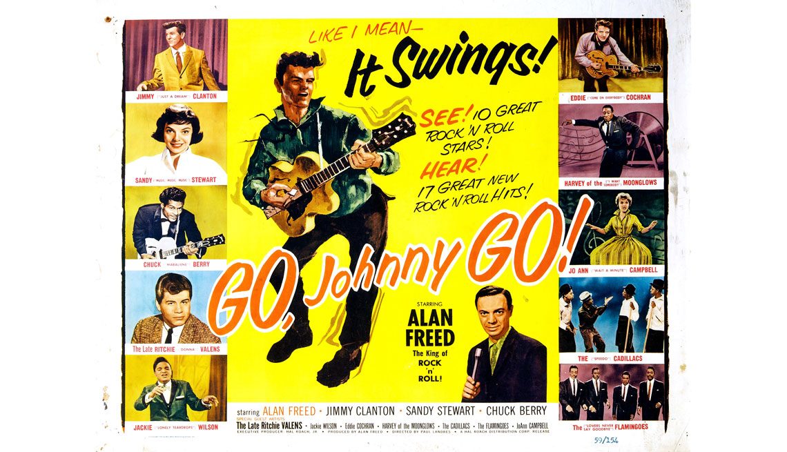 item 8 of Gallery image - Portada del disco Go Johnny Go!