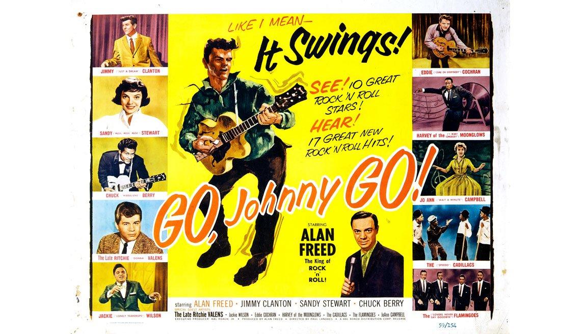 item 8, Gallery image. Afiche de la película Go Johnny Go!