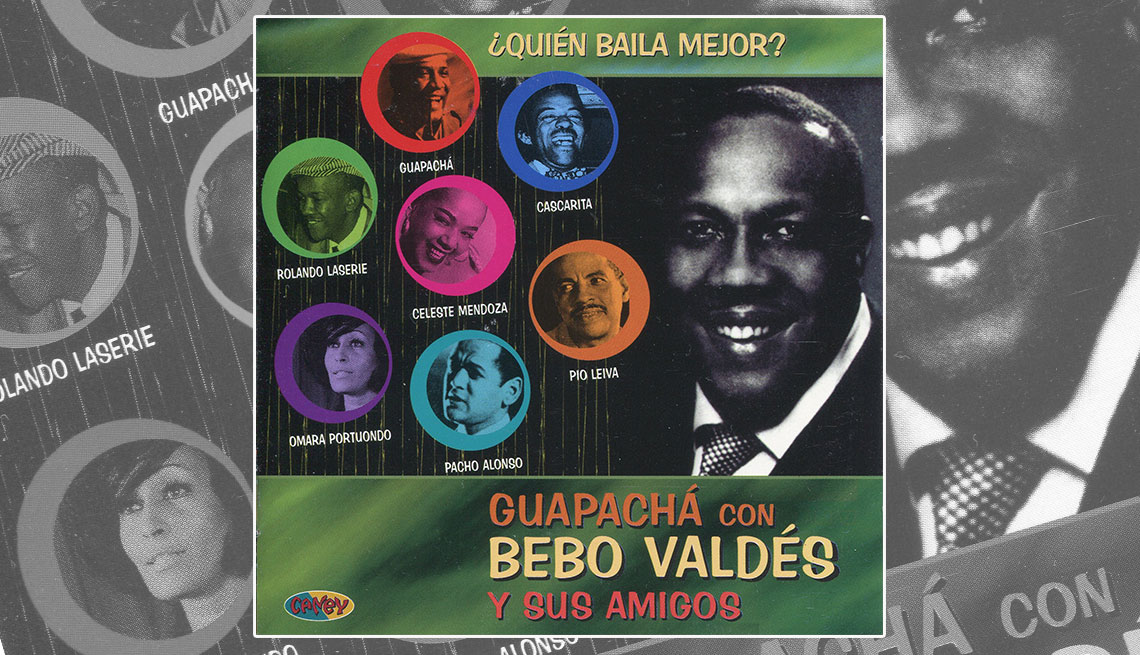 Portada del disco Guapachá con Bebo Valdés y sus amigos