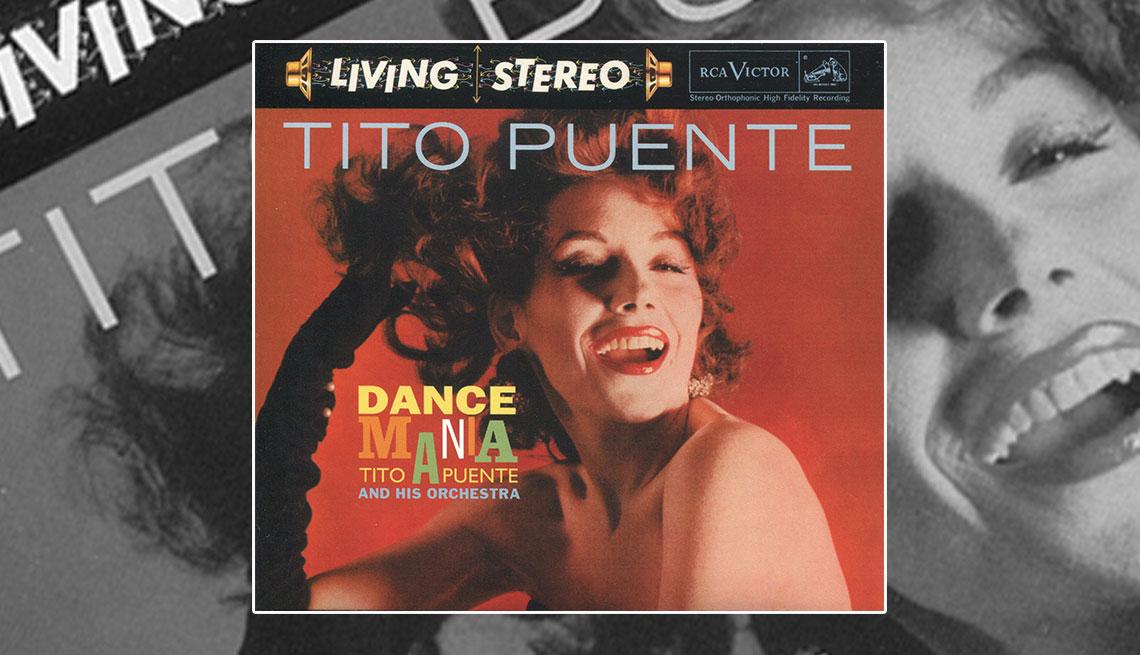 Portada del disco Dance Mania Tito Puente and his Orchestra