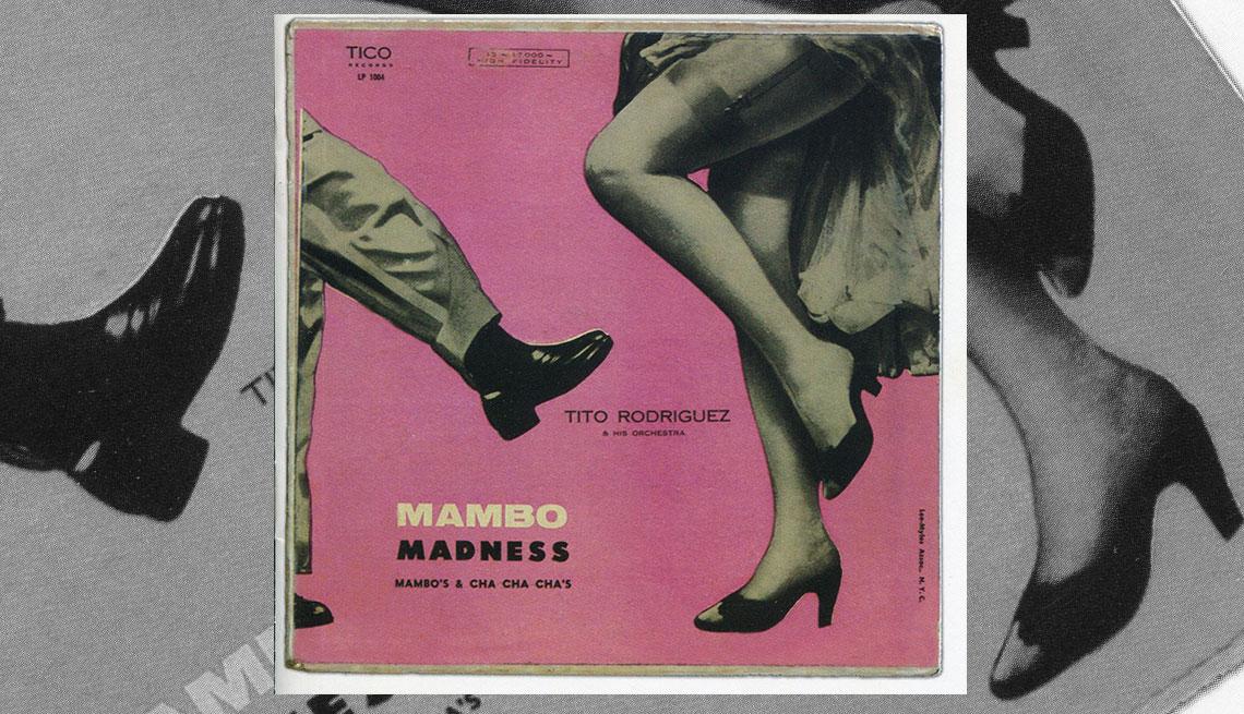 Portada del disco Tito Rodríguez Mambo Madness Mambo's Cha Cha Cha's