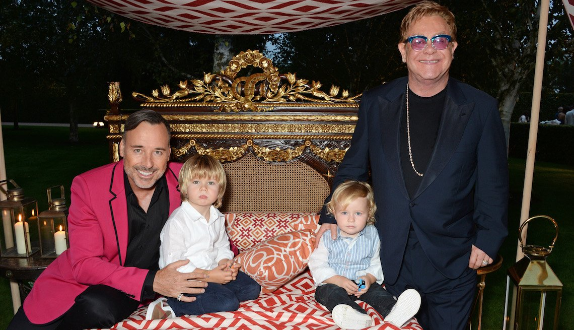 item 8 of Gallery image - The Woodside End of Summer party to benefit the Elton John AIDS Foundation sponsored by Chopard and Grey Goose at Woodside on September 4, 2014 in Windsor, England.  A percentage of revenue from the sale of this image will be donated to the Elton John AID