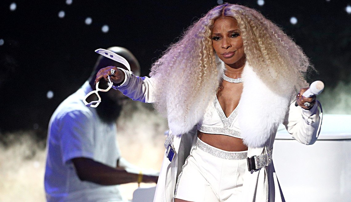 Mary J. Blige performs onstage at the 2019 BET Awards on June 23, 2019