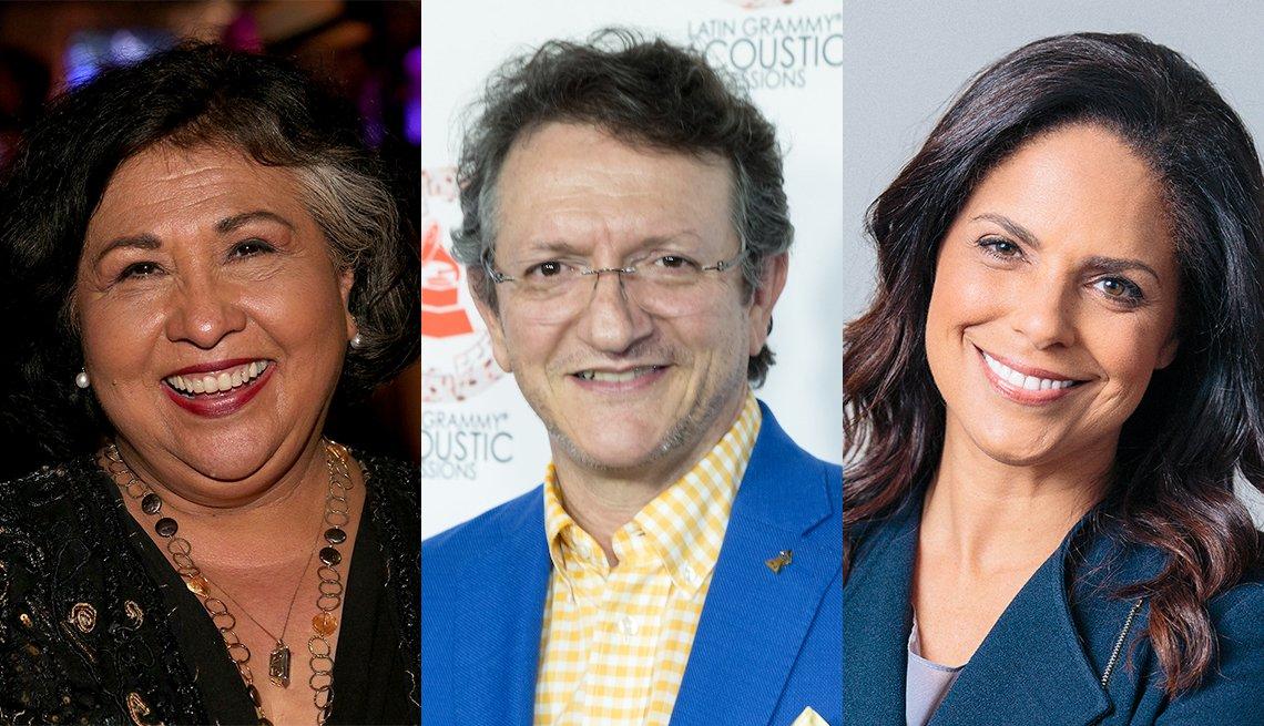 Gloria Molina, Gabriel Abaroa, Jr. and Soledad O'Brien
