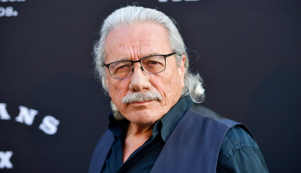 Edward James Olmos attends the premiere of FX's